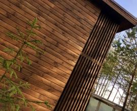 """Фасад дома """"Солнечный-3"""" Монтаж фасада специальным скрытым фасадным крепежом"""