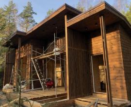 """В наших домах нет дорогостоящих лестниц, перил и крылец.  Вход в дом """"Солнечный-3"""""""
