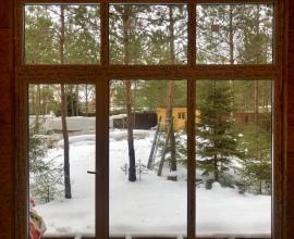 Вид из окон спальни